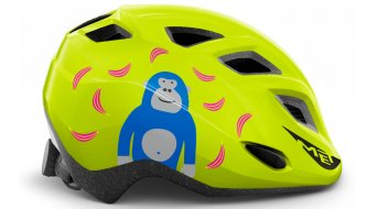 MET Genio Kinder-Helm Gr. unisize (52-57cm) lime green monkey/glossy