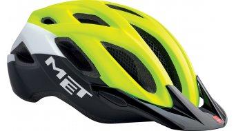 Met Crossover Helm Aktive-Helm Gr. M (52-59cm) safety yellow/white/black - VORFÜHRTEIL ohne Originalverpackung