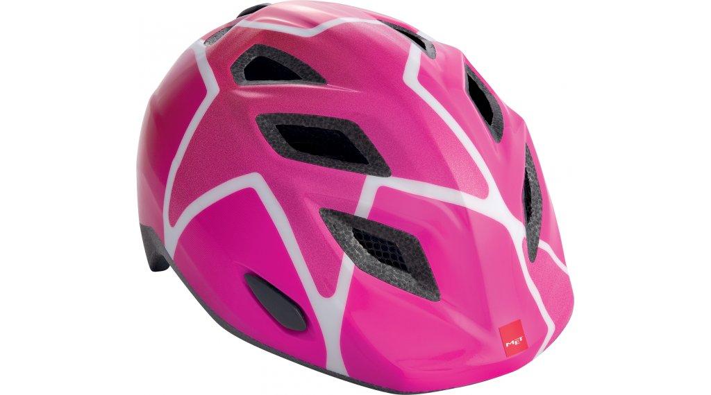 MET Elfo Kinder-Helm Gr. unisize (46-53cm) pink stars/glossy