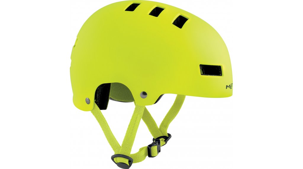 MET Yo-Yo Kinder-Helm Gr. S (51-55cm) safety yellow/matt glossy