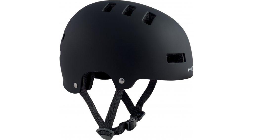 MET Yo-Yo Kinder-Helm Gr. M (54-57cm) black/matt