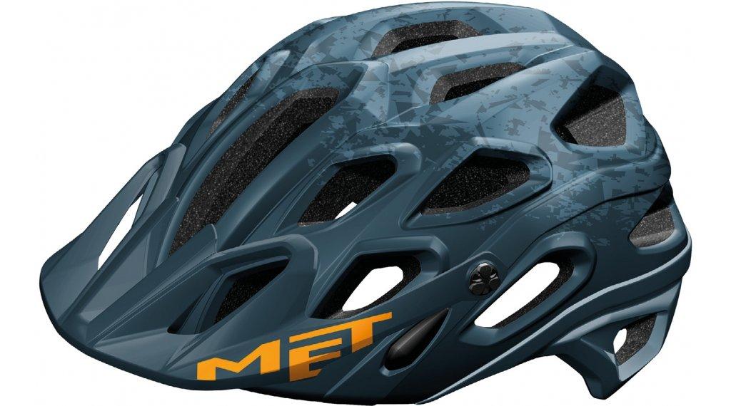 MET Lupo MTB-Helm Gr. M (54-58cm) avio texture orange/matt