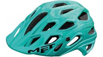 MET Lupo MTB Helm Gr. M (54-58cm) mint green texture/matt