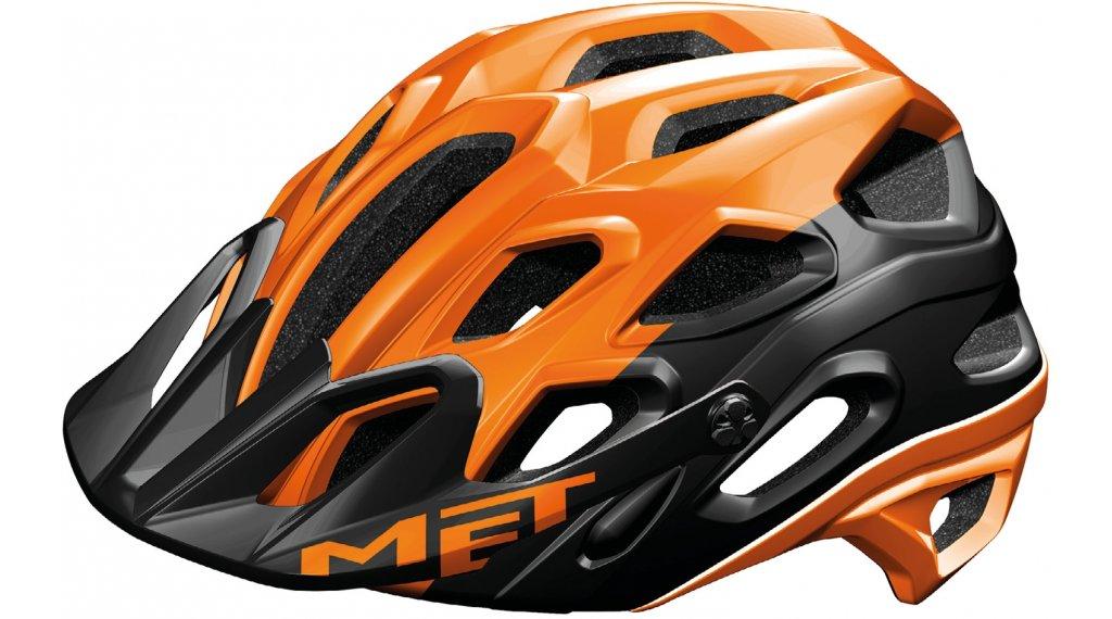 MET Lupo MTB-Helm Gr. M (54-58cm) orange black/matt