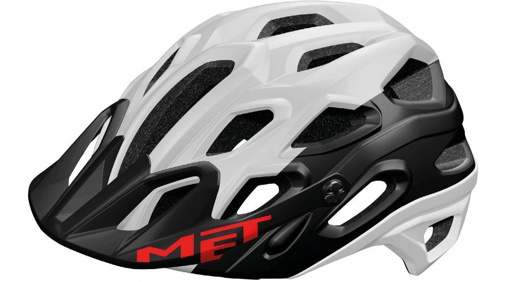 MET Lupo MTB-Helm Gr. M (54-58cm) white black/matt