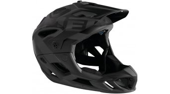 MET Parachute All Mountain/Enduro Fullface-Helm Gr. S (51-56cm) black/matt