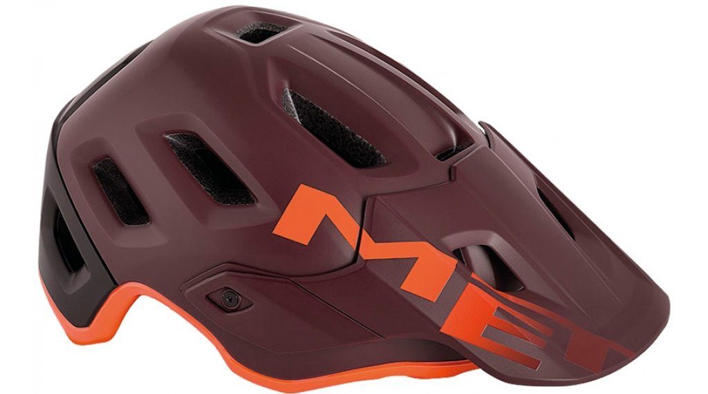 MET Roam MTB-Helm Gr. S (52-56cm) burgundy orange/matt