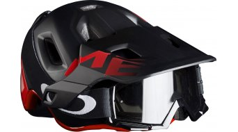 MET Roam MTB-Helm Gr. S (52-56cm) black red/matt glossy