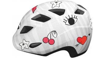 MET Elfo Kinder Helm Gr. unisize (46-53cm) white icons/glossy