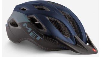 MET Crossover Fahrradhelm Gr. M (52-59cm) blue black/matt