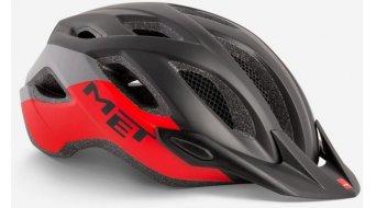 MET Crossover Fahrradhelm Gr. M (52-59cm) black/red