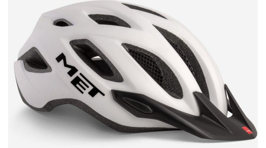 MET Crossover Fahrradhelm Gr. M (52-59cm) white/matt