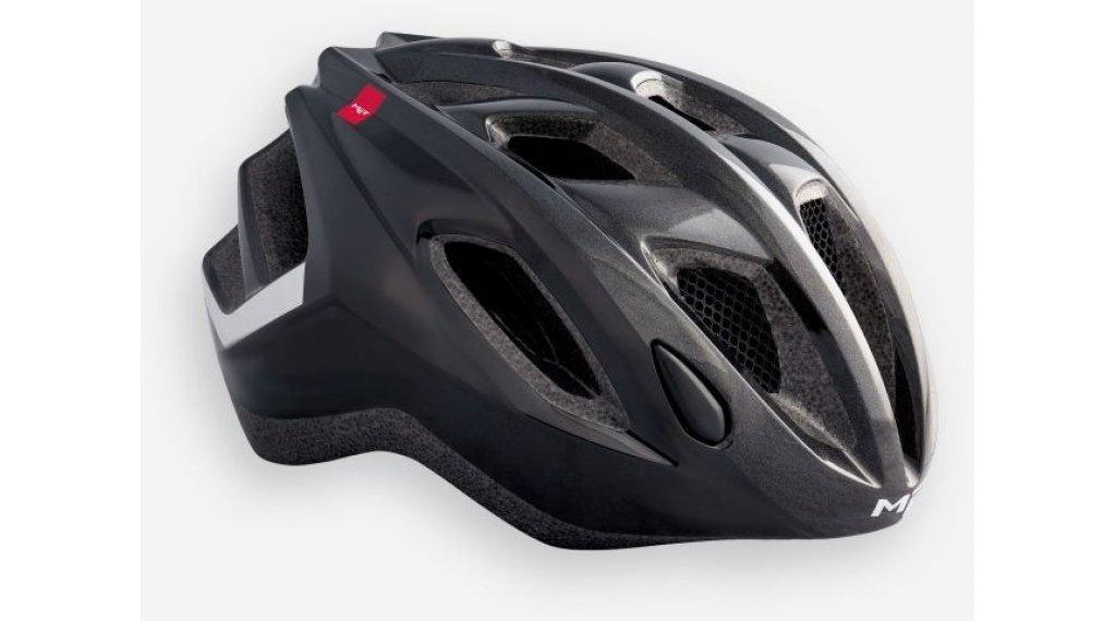 MET Espresso 自行车头盔 型号 S (52-57厘米) black/glossy