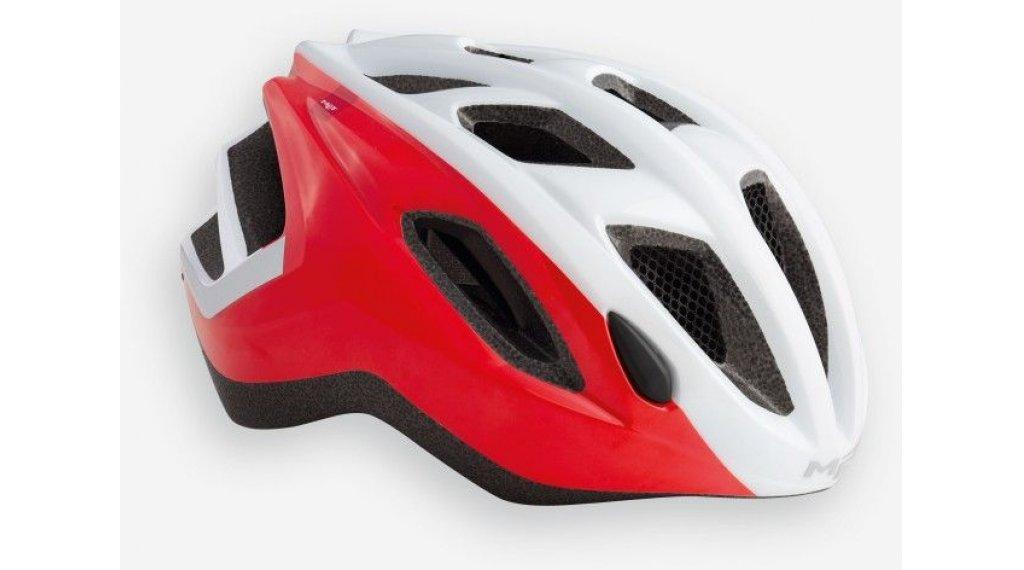 MET Espresso 自行车头盔 型号 S (52-57厘米) white red/glossy