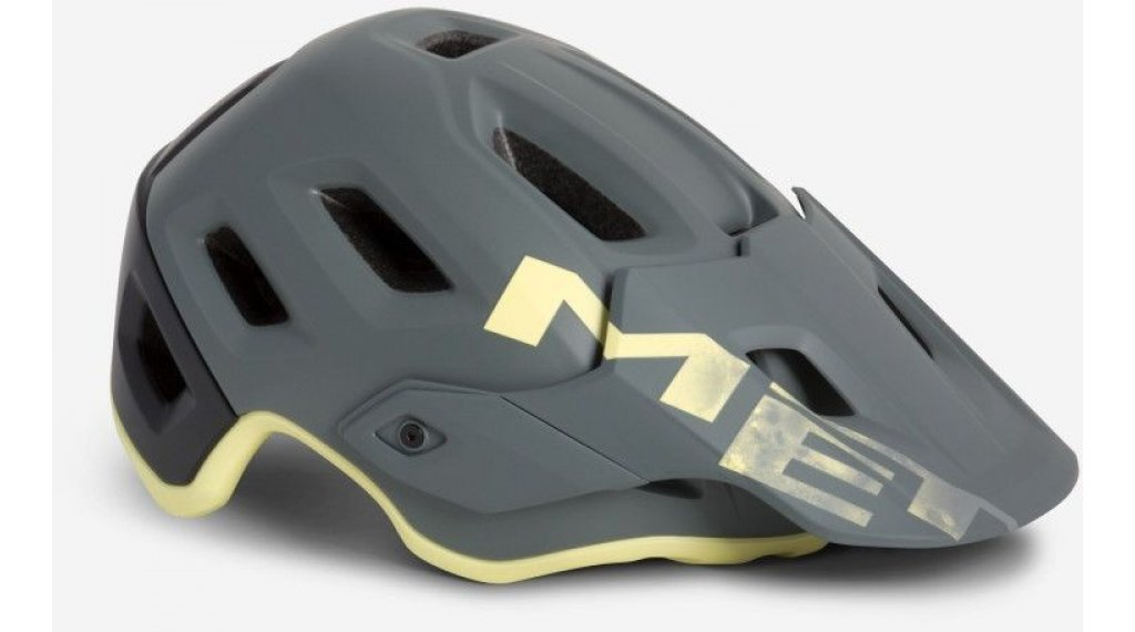 MET Roam MTB-Helm Gr. S (52-56cm) gray tender yellow/matt