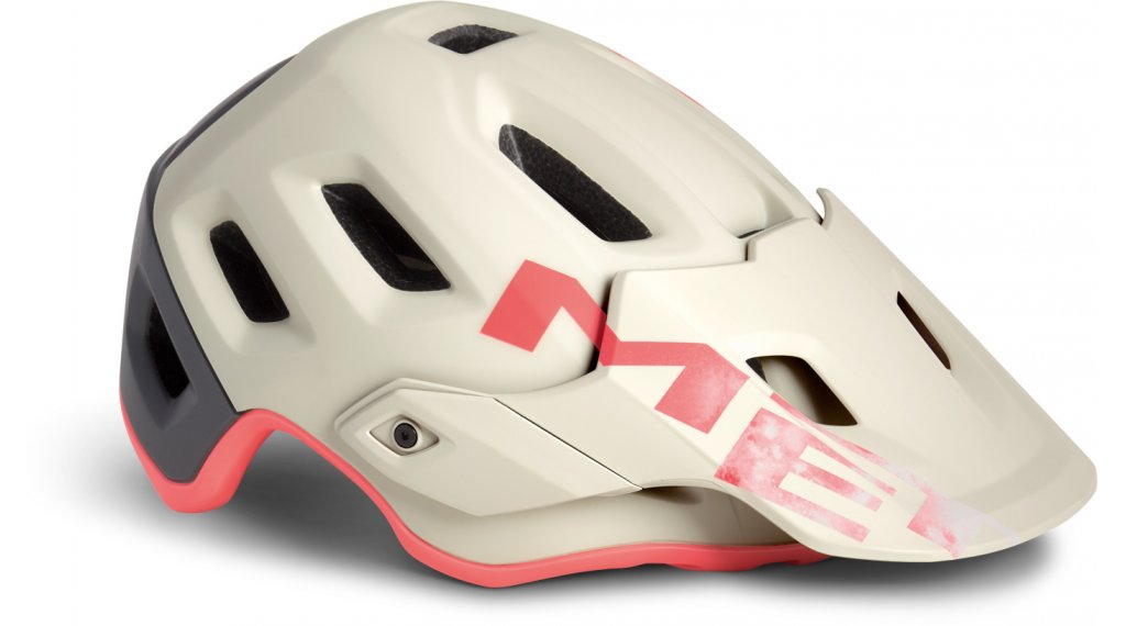 MET Roam MTB Helm Gr. S (52-56cm) dirty white gray pink/matt