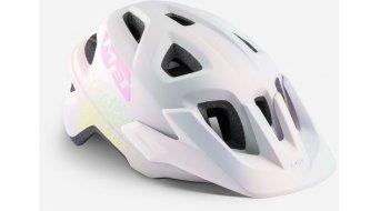 MET Eldar Kinder-Helm Gr. unisize (52-57cm) iridescent white texture