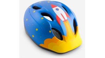 MET Buddy Kinder-Helm Gr. unisize (46-53cm) blue rocket/matt