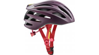 Mavic Aksium Elite road bike-/XC helmet fig/hibiscus