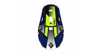 ONeal Blade Delta Polyacrylite MTB-Fullface Helm Gr. XS (53cm-54cm) blue/neon yellow Mod. 2020