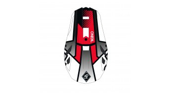 ONeal Blade Delta Polyacrylite MTB-Fullface Helm Gr. XS (53cm-54cm) white/red Mod. 2020