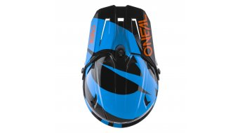ONeal Backlfip Slick MTB-Fullface Helm Gr. XS (53cm-54cm) black/blue Mod. 2020