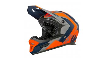 ONeal Fury Hybrid MTB-Helm blue/orange Mod. 2020
