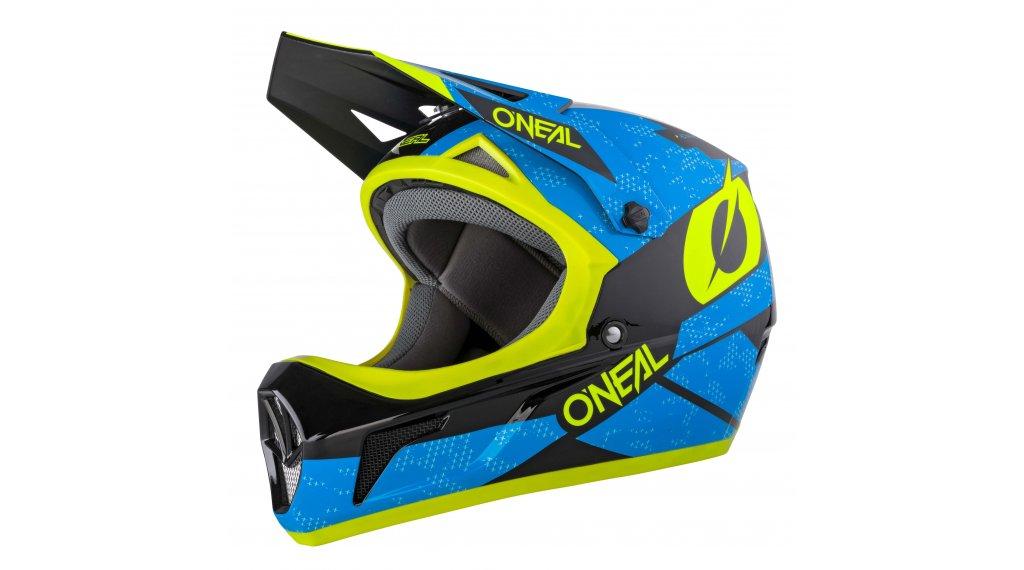 ONeal Sonus Deft MTB-Fullface Helm Gr. M (57cm-58cm) blue/neon yellow Mod. 2020