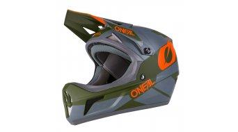 ONeal Sonus Deft MTB-Fullface Helm Gr. XS (53cm-54cm) gray/olive/orange Mod. 2020