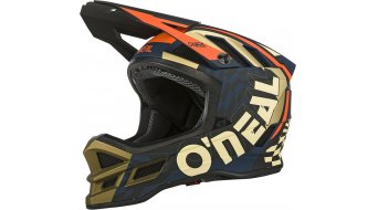 ONeal Blade Zyphr Polyacrylite casco integral Fahrradhelm azul/naranja