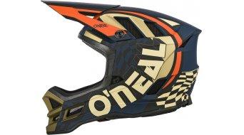 ONeal Blade Zyphr Fullface Fahrradhelm Gr. L (59cm-60cm) blue/orange