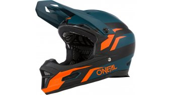 ONeal Fury Stage Fullface 自行车头盔 型号 L (57-58厘米) petrol/橙色