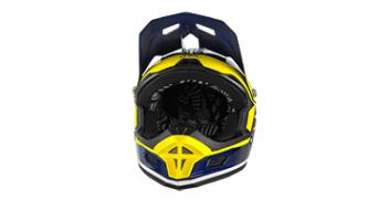 ONeal Fury Fidlock RL 2 Afterburner helmet DH-helmet size L blue 2018