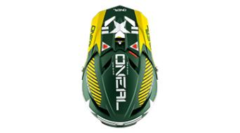ONeal Fury Fidlock RL 2 Afterburner helmet DH-helmet size L green 2018