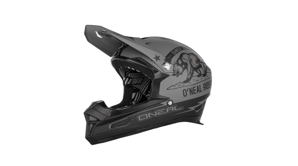 ONeal Fury RL2 Fidlock RL2 California Helm DH-Helm Gr. L schwarz/grau Mod. 2020