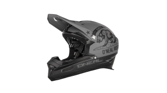 ONeal Fury RL2 Fidlock RL2 California Helm DH-Helm schwarz/grau Mod. 2020