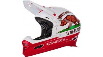 ONeal Fury Fidlock RL 2 California Helm DH-Helm weiss/rot Mod. 2017