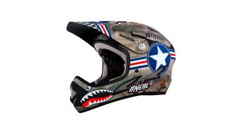 ONeal Backflip Fidlock RL2 Wingman casco DH-casco metal/blanco(-a) Mod. 2018