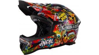 ONeal Warp Fidlock Crank Helm DH-Helm schwarz/multi Mod. 2017
