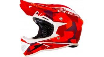 ONeal Warp Fidlock Edgy casque DH-casque taille M rouge Mod. 2017- (sans emballage dorigine)- AUSSTELLUNGSpièce(s)