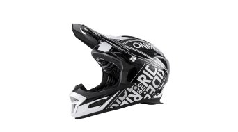ONeal Fury RL Fuel DH-casco negro/blanco Mod. 2017