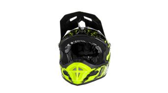 ONeal Fury RL Mercury DH-helmet size L black/hi-viz 2018