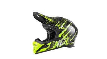 ONeal Fury RL Mercury DH-casco negro/hi-viz Mod. 2018