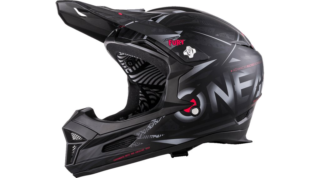 ONeal Fury RL Synthy DH-Helm Gr. XS black Mod. 2020
