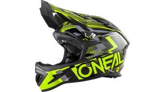 ONeal Warp Fidlock Mips DH-casco negro/amarillo Mod. 2018