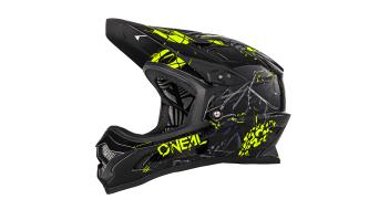 ONeal Blackflip RL2 Zombie DH-casco negro/color neón amarillo Mod. 2019