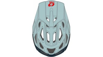 ONeal Pike 2.0 Solid MTB-Helm Gr. S/M blue/red Mod. 2020