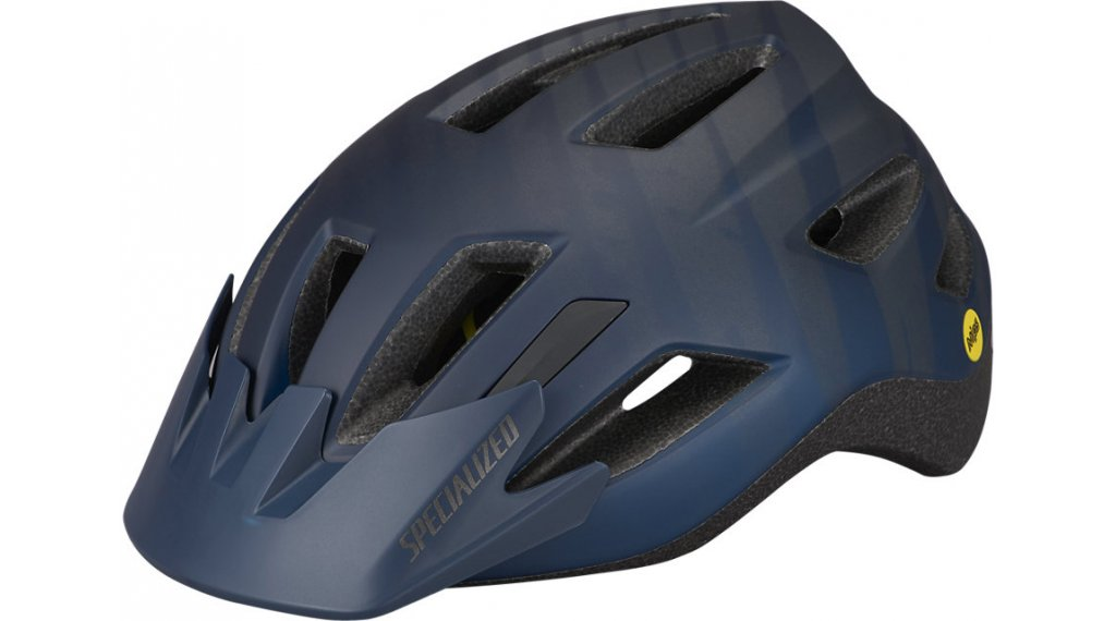 Specialized Shuffle Youth LED MIPS Kinder-Helm Gr. unisize (52-57cm) satin cast blue metallic wild