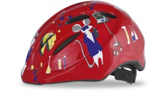 Specialized Small Fry casco casco bambino Child mis. unisize (50-55cm) red mice mod. 2015