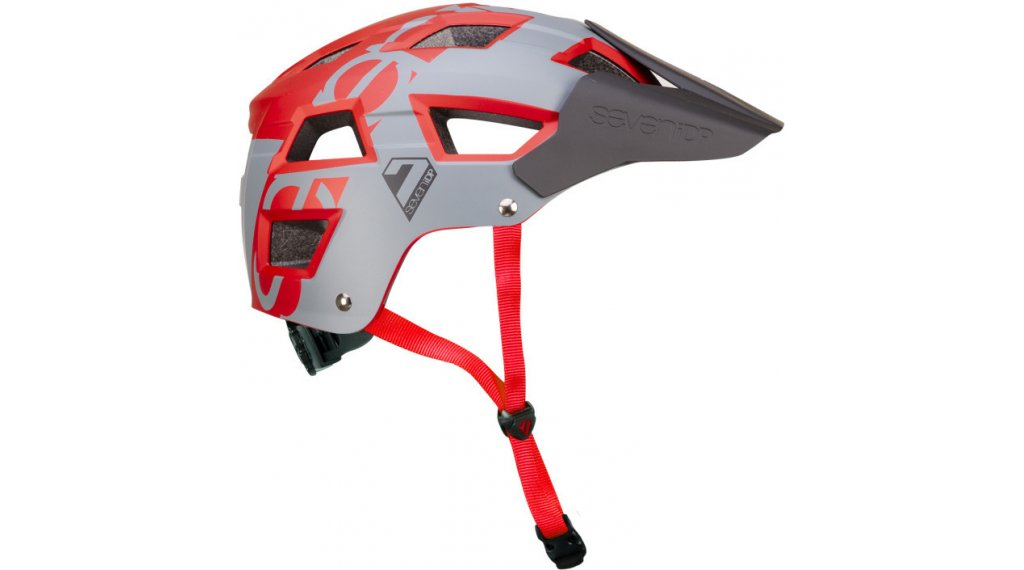 7iDP Seven M5 MTB-Helm Gr. L/XL (58-62cm) grey/red
